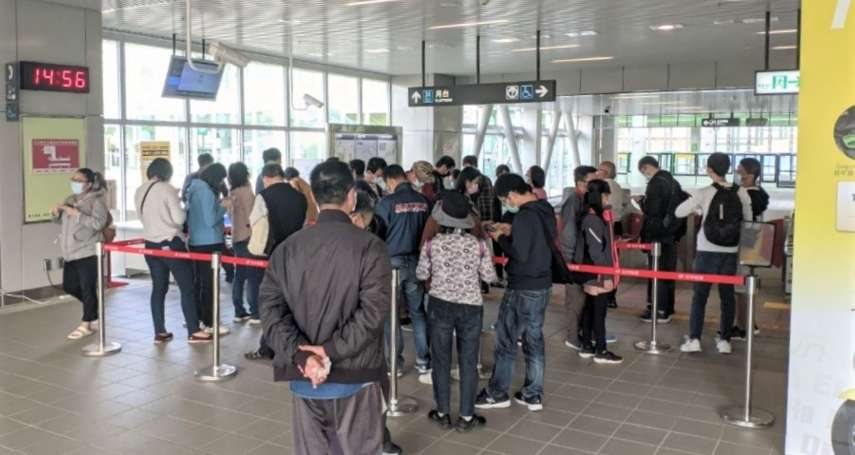 中市公車綁卡突破六萬 捷運站二月調整服務時間