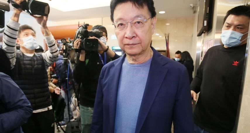 趙少康選國民黨主席「1年條款」解套有望?組發會主委揭2種可能方案