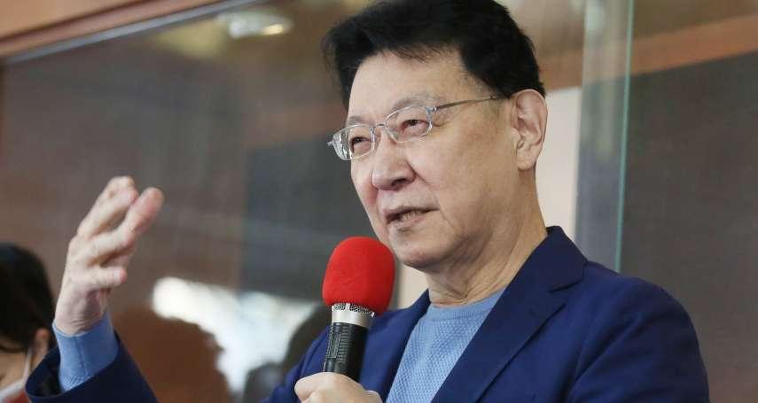 「若可以,英、扁為何不獨?」趙少康Clubhouse談兩岸:中國沒理由攻台