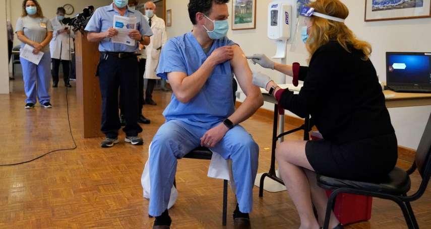 數字看中國》美打新冠疫苗劑量居冠,中印緊追在後
