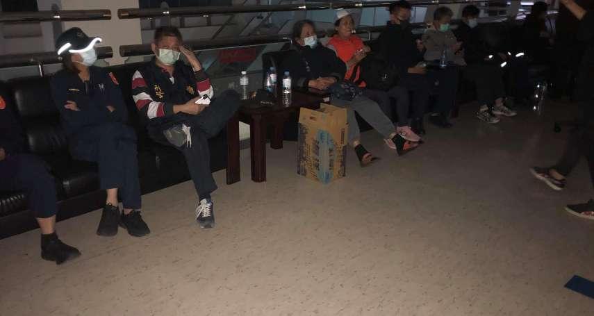 台中東勢土地重劃惹議!中山地政事務所遭控「反鎖」抗議民眾,深夜警方強制驅離