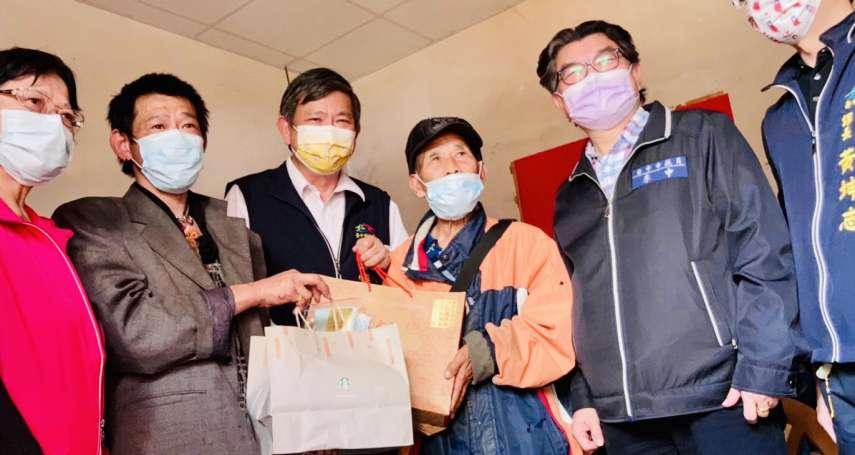 寒冬送暖 善心企業捐款贈獨老與身障者年菜