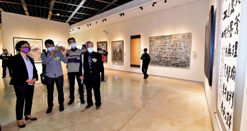 中山青年藝術獎彰化巡迴展 首次到彰化縣立美術館展出