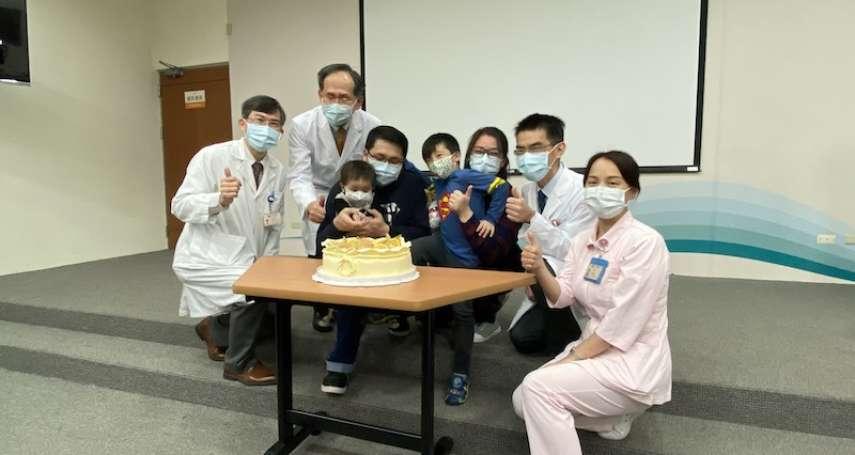 飛越近三千公里求醫 台中榮總成功治療馬國幼兒白血病個案