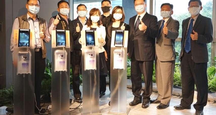 私公協力聯手抗疫!   衛浴品牌龍頭HCG贈新北智能防疫裝置