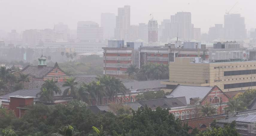 西半部空氣品質拉警報,全台13測站亮紅燈!環保署揭空氣汙染的背後真相