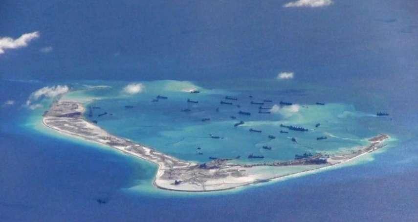 南海風雲》中國在南沙美濟礁又蓋新基地,菲律賓學者:北京想將人工島礁全面軍事化