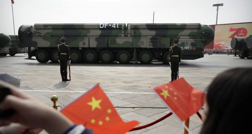 衛星照片揭密》中國建造「東風41型」飛彈地下發射井,承受美國核子第一擊!