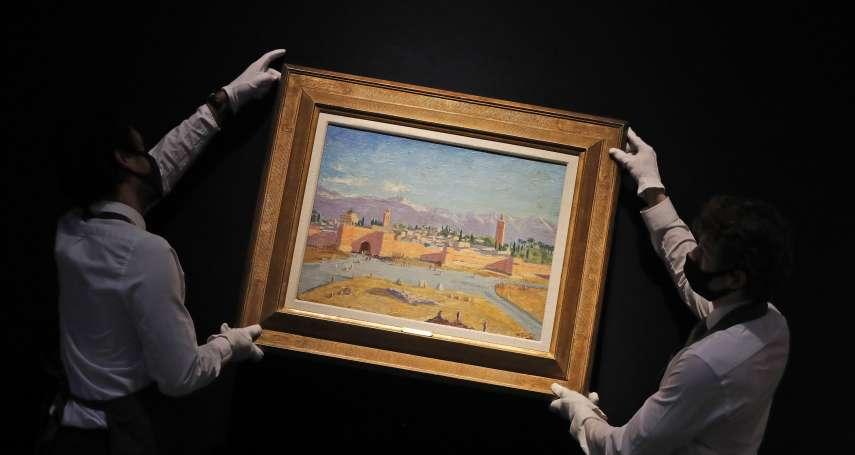 邱吉爾送給羅斯福的禮物,落入安潔莉娜裘莉手中! 二戰時期珍稀畫作拍出3.2億天價