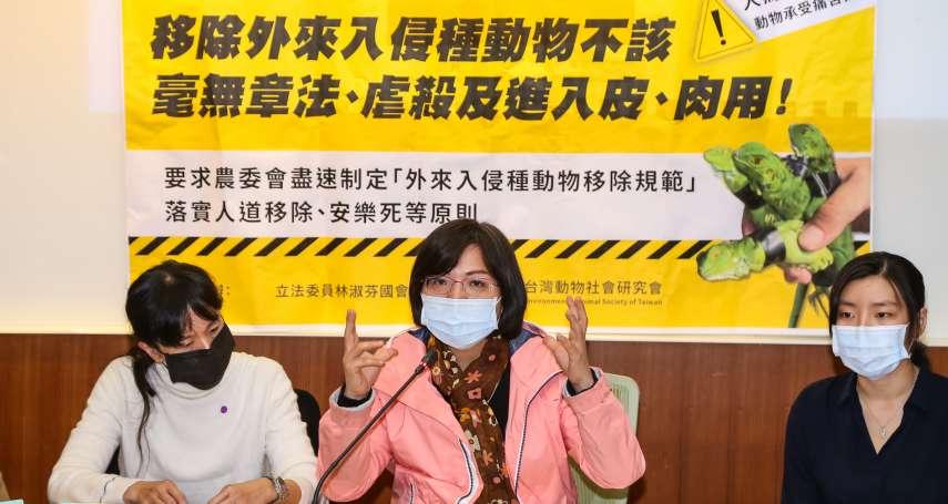 因萊豬跑票遭停權進不了衛環委員會 林淑芬嘆:處分的是人民