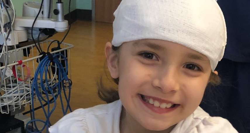 天助自助!擺攤賣檸檬汁自籌醫療費,7歲腦動靜脈畸形女童手術成功
