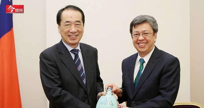 「10年前,我也以為日本核電很安全…」日本前首相菅直人:台灣應想最壞劇本