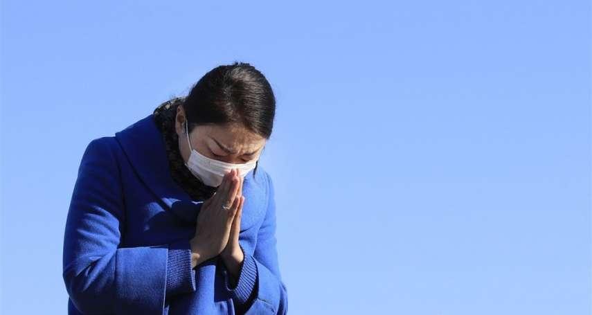 311東日本大地震10週年》大海嘯逼迫大家躲到山上、2萬多人死亡、失蹤…災民回高崗上追悼不禁淚崩
