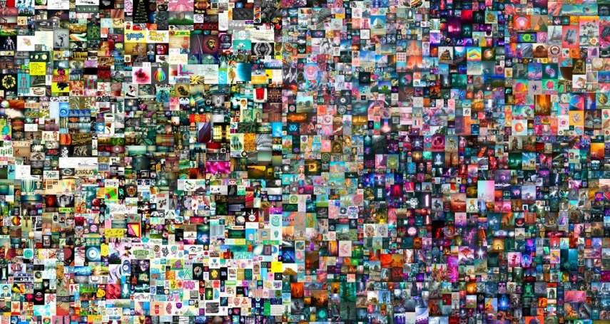 一幅數位圖檔20億元成交!爆紅的區塊鏈應用「NFT」震撼全球藝術界