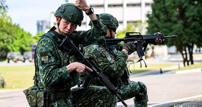 實踐美軍綠扁帽概念 陸軍特戰ODA番號罕見曝光