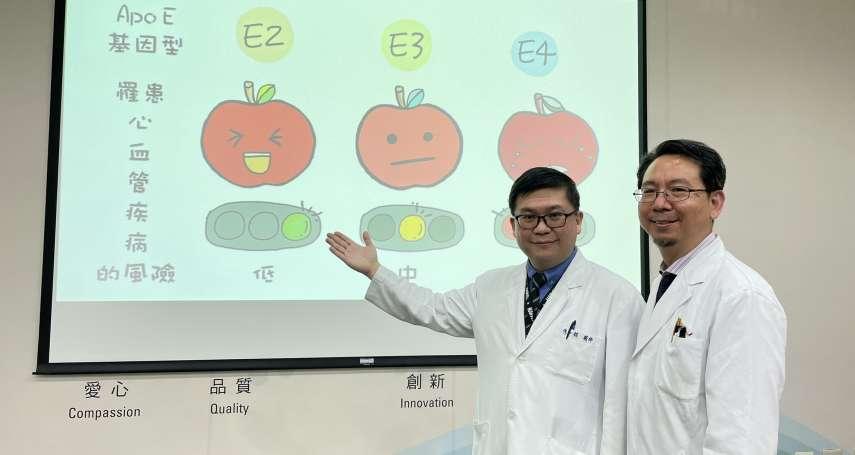 研究發現載脂蛋白E基因型態不同 影響類風溼關節炎引發不同疾病