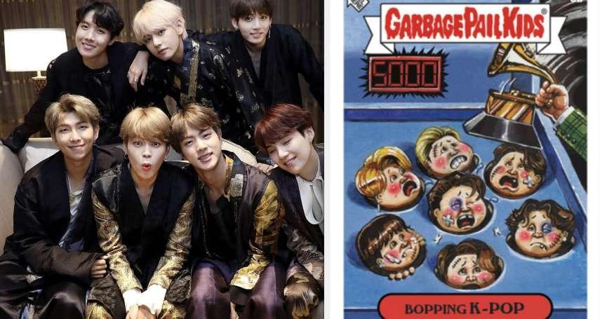 BTS淪為「被揍到鼻青臉腫的地鼠」?新款閃卡挨轟「種族歧視」,公司緊急道歉下架