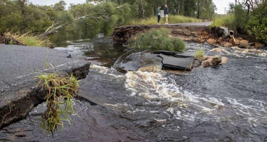 數百人緊急疏散!暴雨侵襲澳洲東海岸、雪梨水壩30年首度溢流 當局警告:暴洪威脅生命
