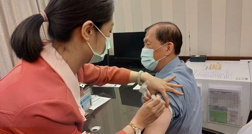 中市COVID-19疫苗開打 首波7450名醫護人員開始接種