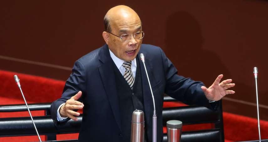 陳時中鬆口擬承認中國疫苗 蘇貞昌:若符合標準,不因政治排斥