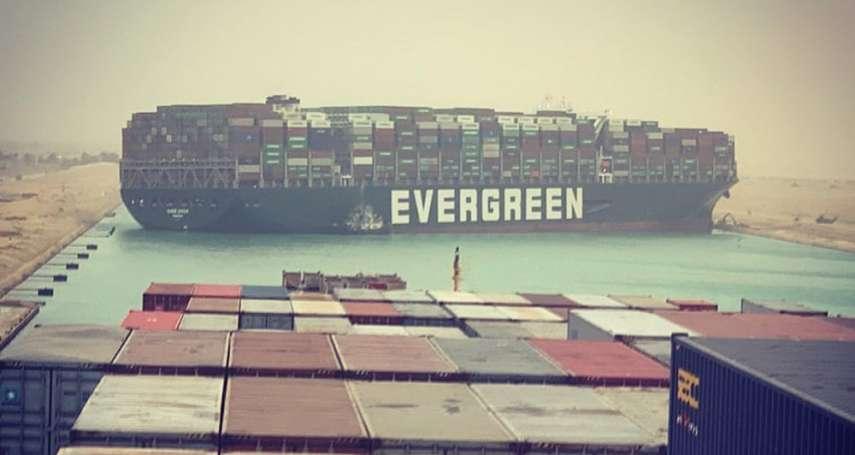 長榮貨輪卡蘇伊士運河,讓全球貨貿每小時損失114億!