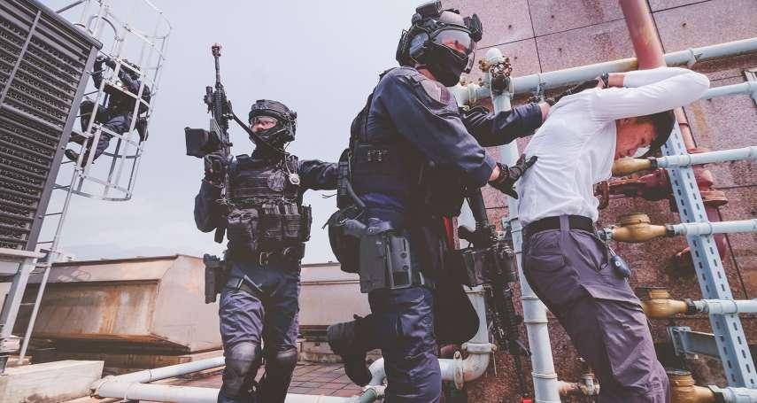 反恐特警現身天母使館特區 警政署無劇本演習再度啟動