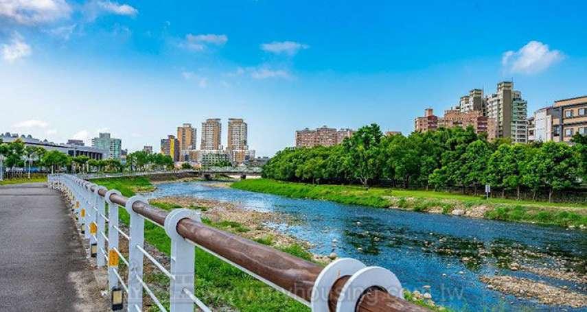 五座水岸公園、桃園綠覆率最高重劃區  看好青溪特區建商搶推案