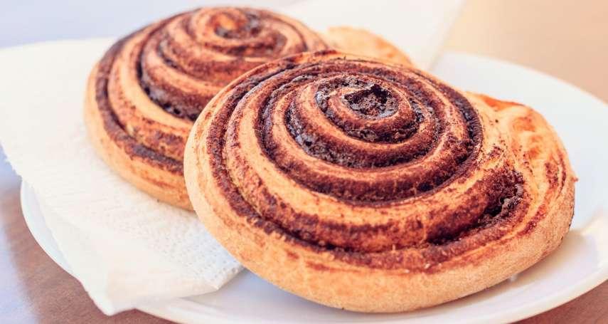 瑞典國民麵包「肉桂捲」為何會在台灣爆紅?背後原因絕對超乎你想像!