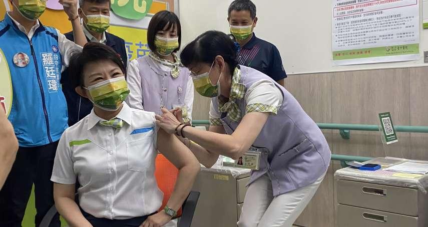 以身作則安定民心 盧市長主動接種COVID-19疫苗