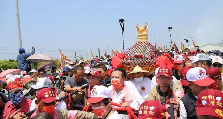 大甲媽祖迎駕 嘉義縣府團隊為台灣祈福
