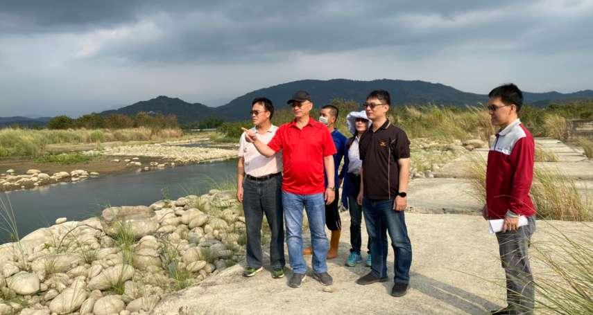 旗山溪流量下降 一期作稻作進入抽穗期 農水署高管處籲農民節約用水