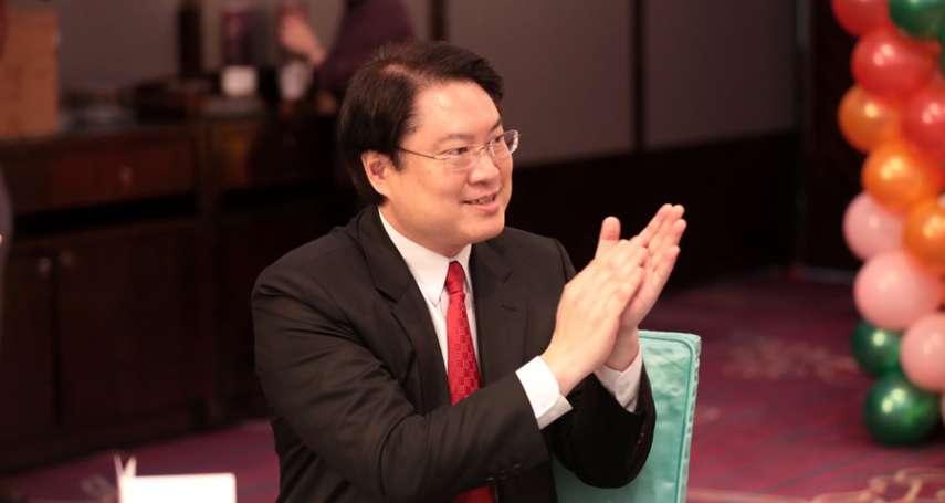 林右昌積極佈局 由鄭文燦手中接下台灣健康城市聯盟理事長