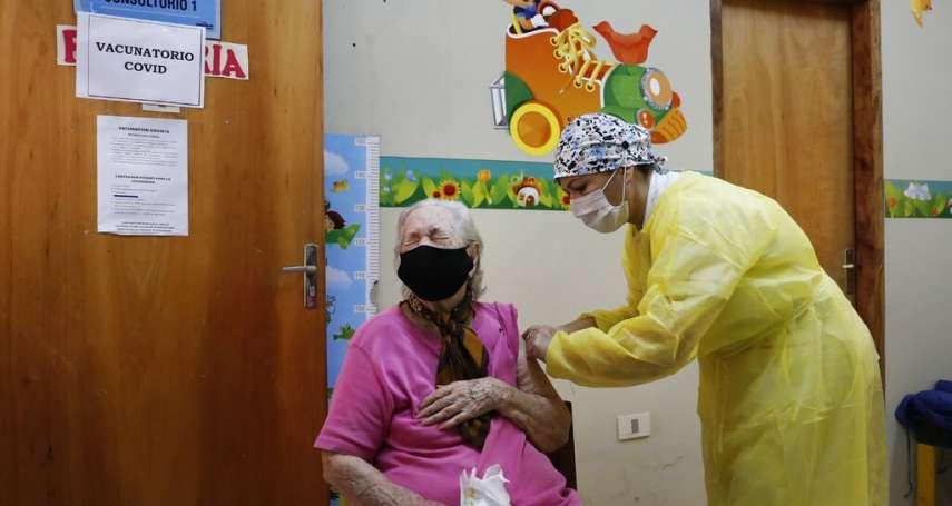 台巴邦交拉警報!紐時:巴拉圭急需新冠疫苗,讓中國找到可趁之機