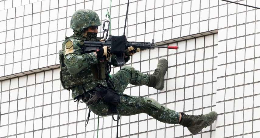 國軍最高級特戰人員罕見現身 涼山特勤隊訪陸軍特指部目的曝光