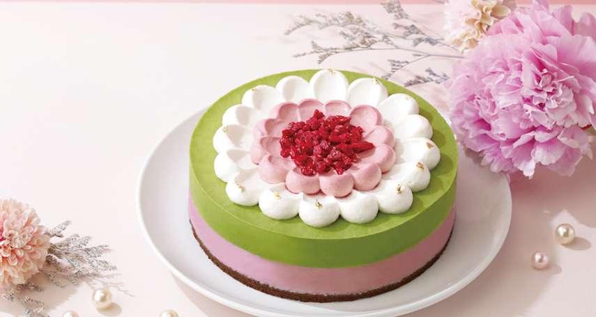 抹茶新品吃不完 牡丹造型蛋糕歡慶母親節