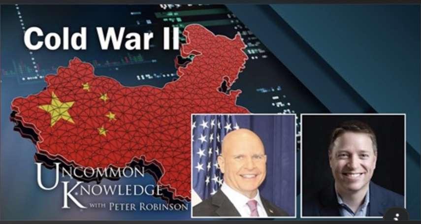 「美國不是說要挺香港,怎挺成現在這樣!那還守得住台灣嗎?」雷根的撰稿人ft.川普的國安顧問:直球對決的白宮精英論辯