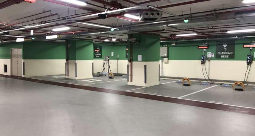 北市補助社區電動車充電設備 建管處:上限300萬