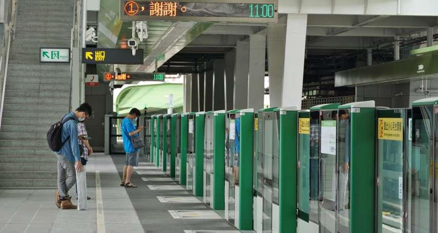本土疫情衝擊?台中捷運13日全線運量跌破2萬人 創下史上新低