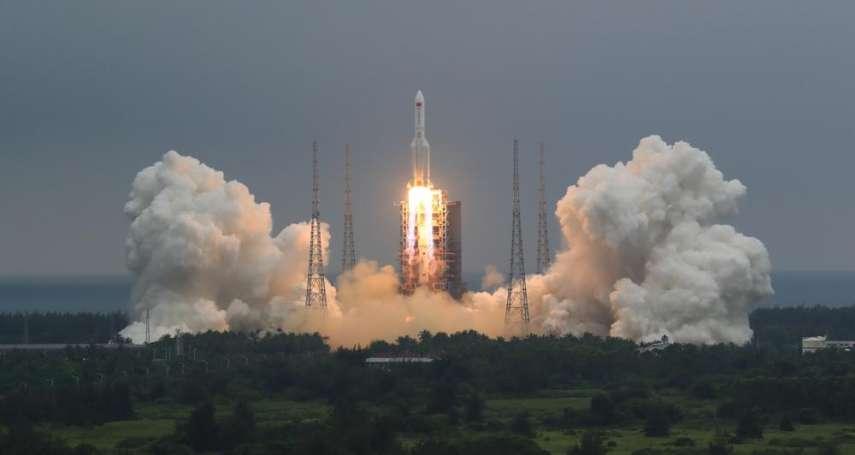 中國成功發射太空站,然後呢?長征火箭失控墜落中!憂砸人居住宅區