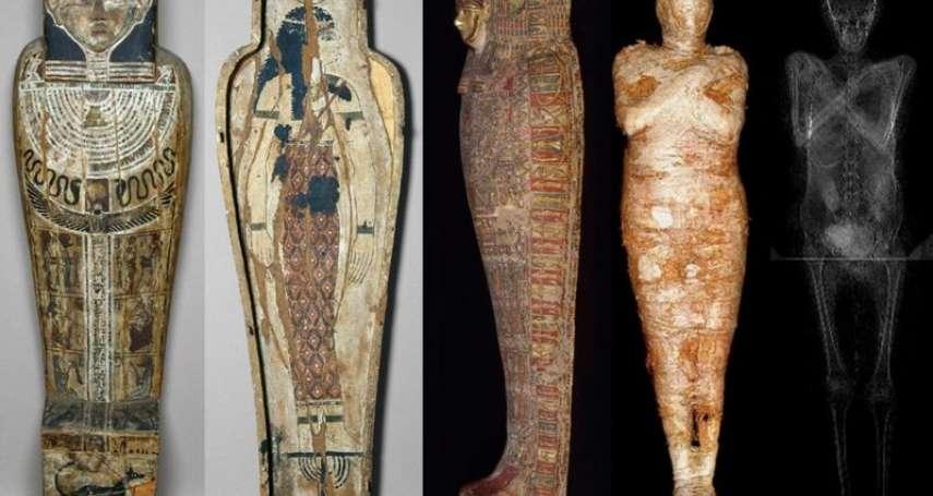這個木乃伊肚子裡有小孩!全球首次發現「孕婦木乃伊」,科學家一度誤認男性祭司
