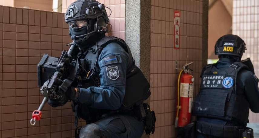 國家級反恐部隊戰力考驗 維安特勤聯手中市特破解校園無劇本演習