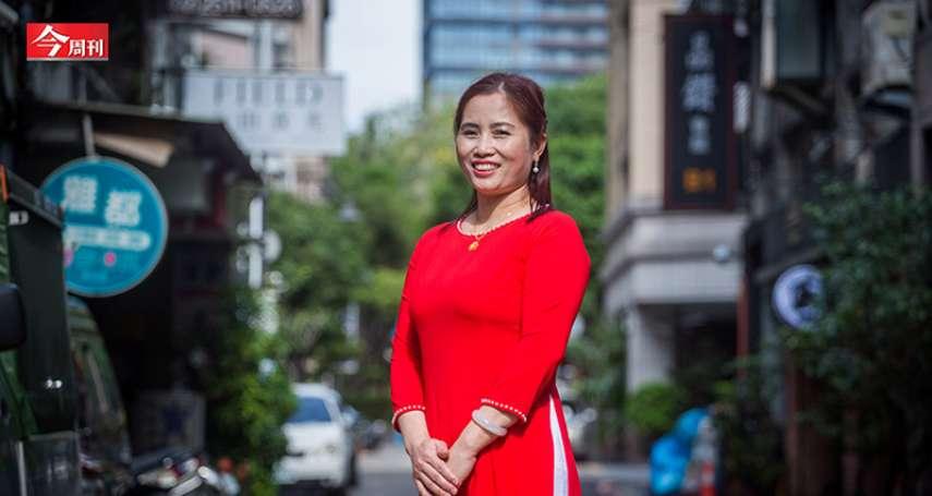 下飛機隔天就上工!她用羅馬拼音學國、台語,來台8年被選為模範勞工