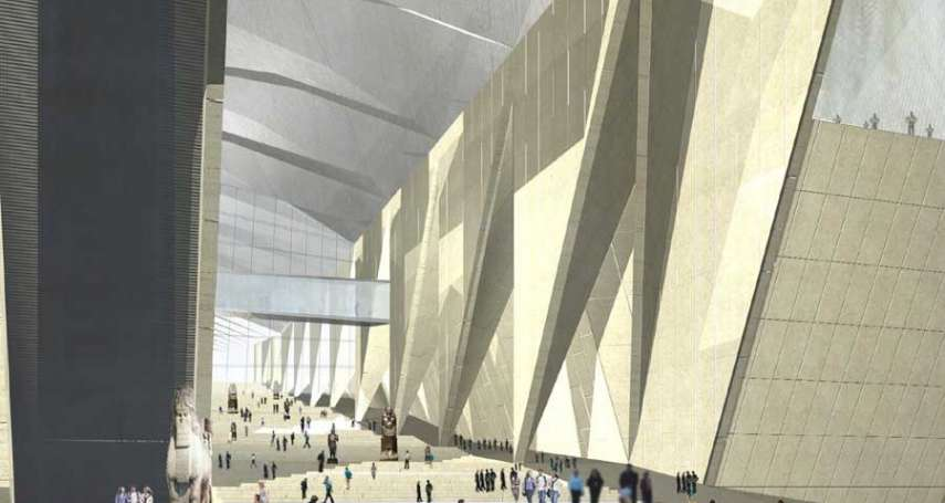 埃及「全球最大考古博物館」今夏開幕:5千件珍貴文物大公開,展覽區就能遠眺雄偉金字塔