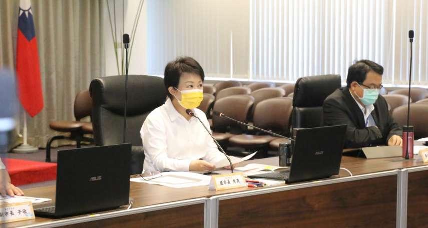 中市府防疫加嚴  宣布第二波220項活動調整