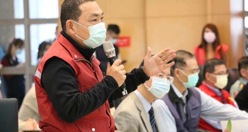 新北14日進行24小時大噴消   侯友宜:民眾一起消毒保護自己和家人