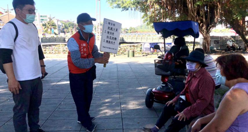 高市觀光局視察風景區   宣導防疫措施並加強查核防疫旅館