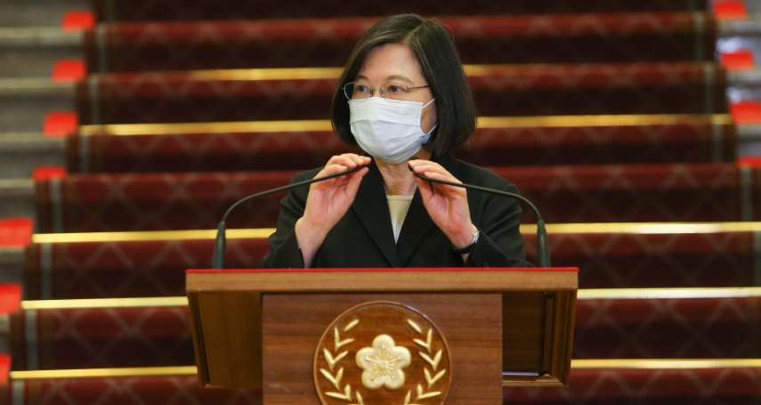 緊急國安會議》力挺指揮官 蔡英文:防疫不是陳時中一個人的事