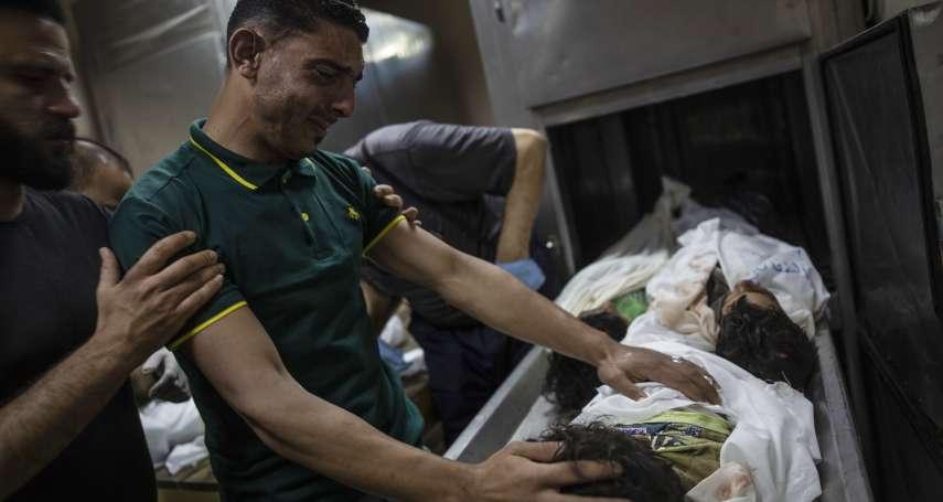 中東危機》加薩走廊瀕臨全面開戰,以色列出動戰機坦克,「哈瑪斯」火箭還擊