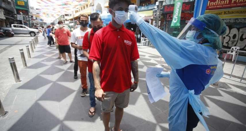 泰國第3波疫情來勢洶洶、監獄淪為病毒溫床 假消息流竄讓民眾不願接種疫苗