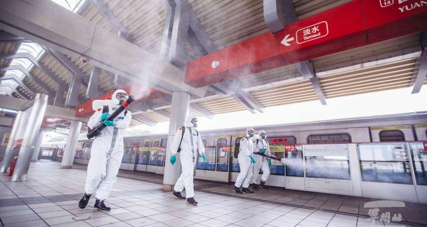 化學兵首度挺進台北捷運連續3日清消 軍方:消毒液對人體無害